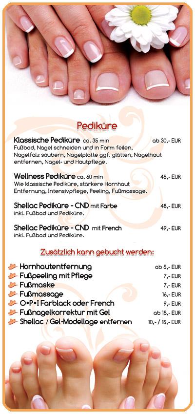 Pediküre - Fußpflege Nürnberg